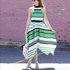 {Anthro} TROUBADOUR✨NWT Candymint Halter Dress